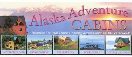 Alaska Adventure Cabins in Homer, Alaska