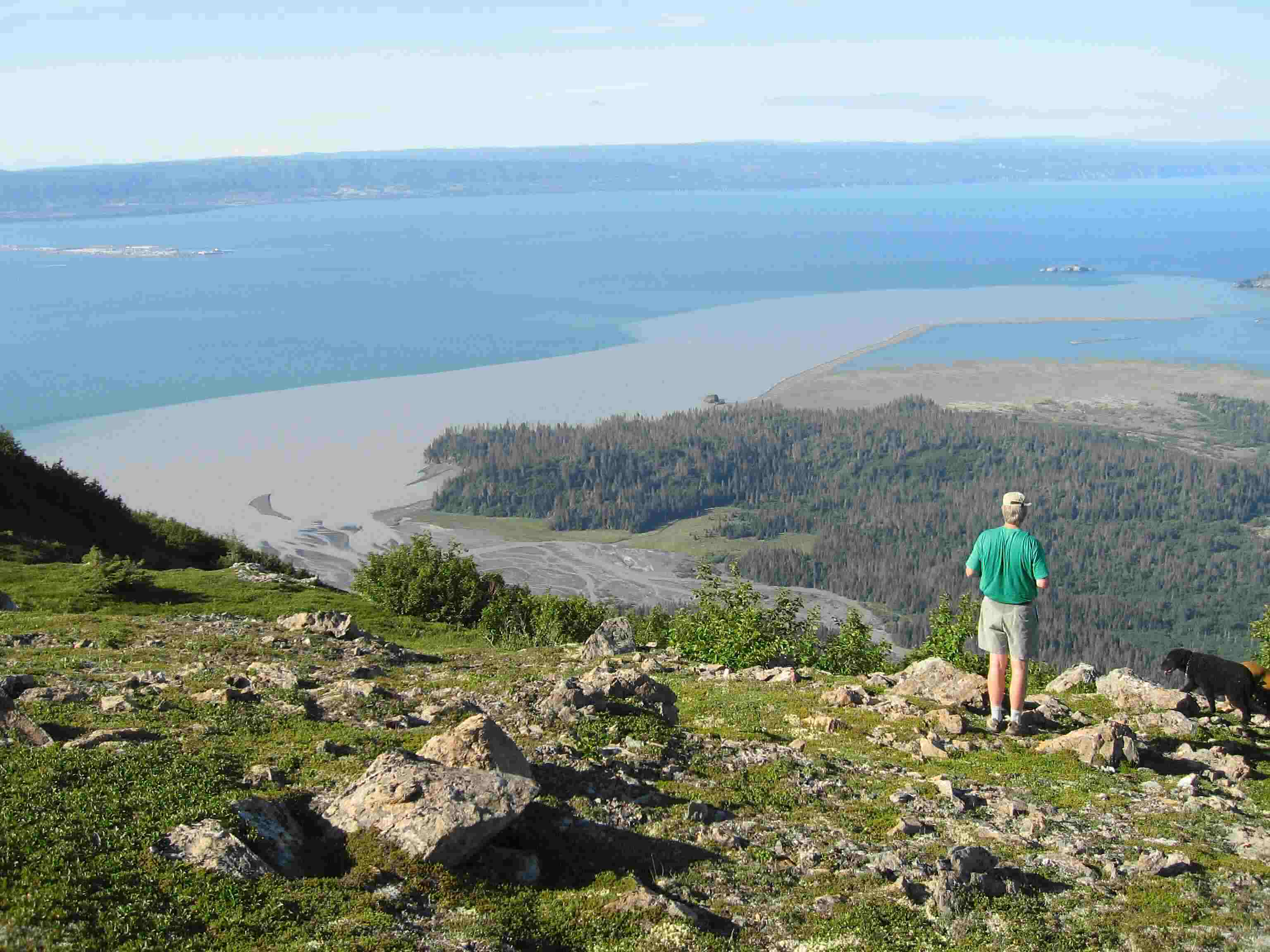 Kachemak Bay hiking on well maintained trails, includes Alaska family adventures